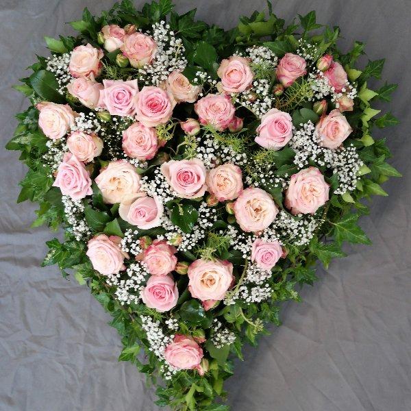 Herz in rosé Bild 1