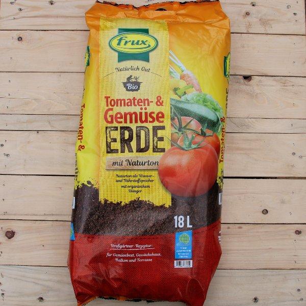 Bio Tomaten-/Gemüseerde Bild 1