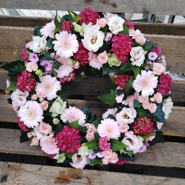 Blütenkranz rosa Bild 1