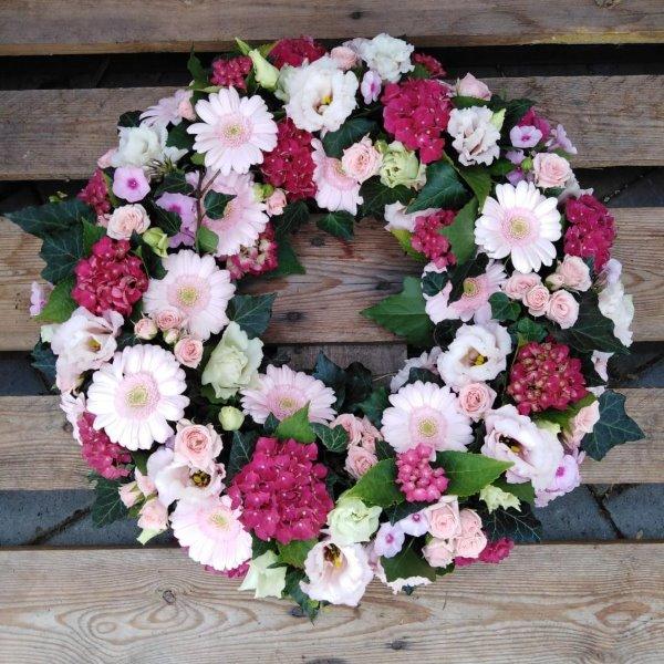 Blütenkranz rosa Bild 2