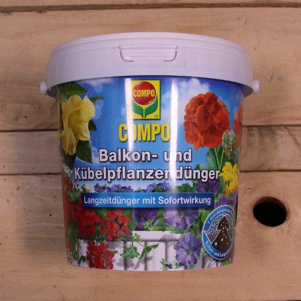Balkon- und Kübelpflanzendünger mit Langzeitwirkung Bild 2