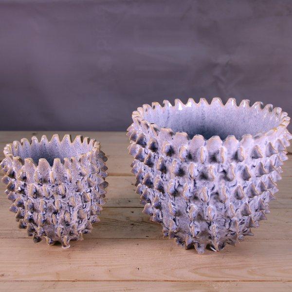 "Topf Keramik ""2have"" mit Stacheln Bild 1"