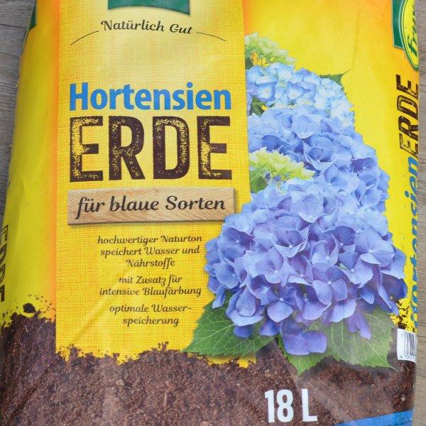 Hortensienerde für blaue Sorten Bild 1