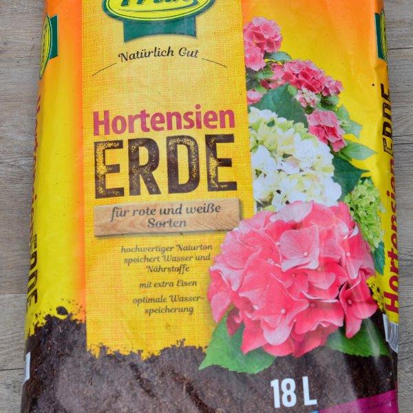 Hortensienerde für rote und weiße Sorten Bild 1