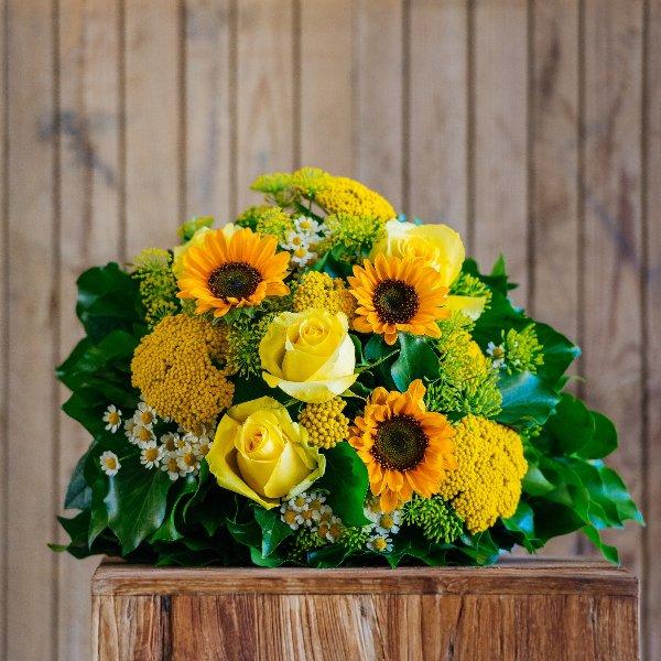 Blumenstrauß á la Saison in gelb Bild 1