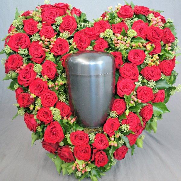 Herz aus Rosen Bild 1