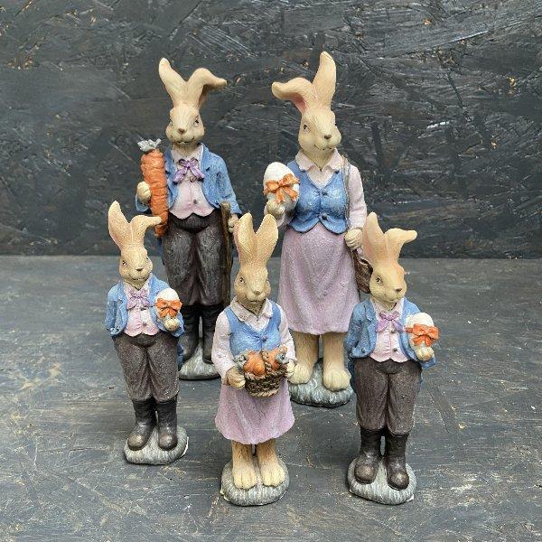 Osterhasenfamilie Bild 1