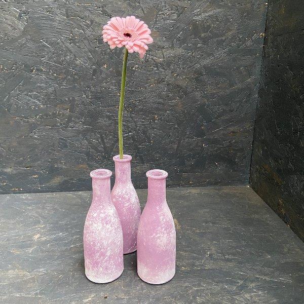 Glasvase für Einzelblüte Bild 1