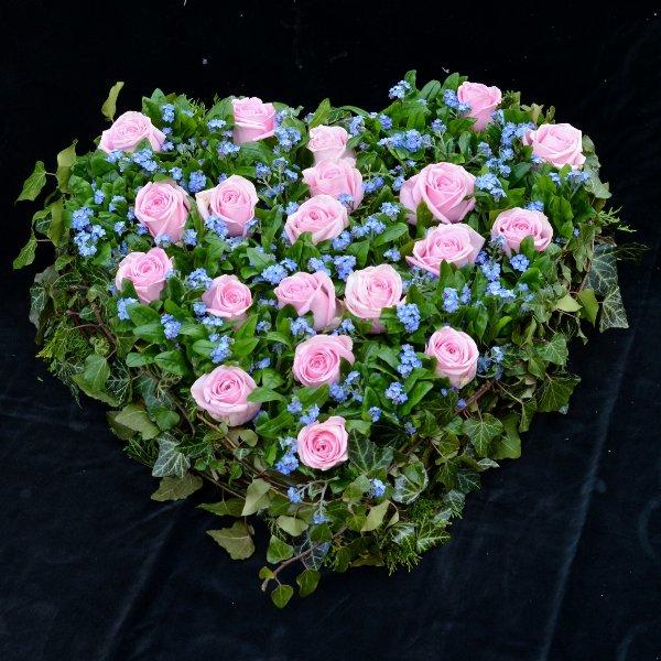 Blütenherz- Vergissmeinnicht Bild 1