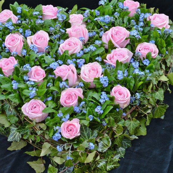 Blütenherz- Vergissmeinnicht Bild 2