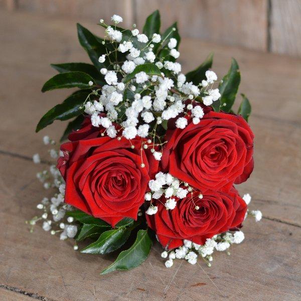 Handstrauß mit Rosen Bild 2