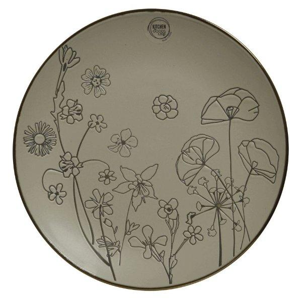 "Geschirrserie ""Taupe Flowers"" Bild 1"