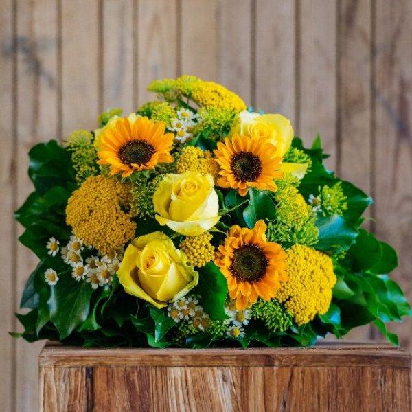 Blumenstrauß in gelb Bild 1