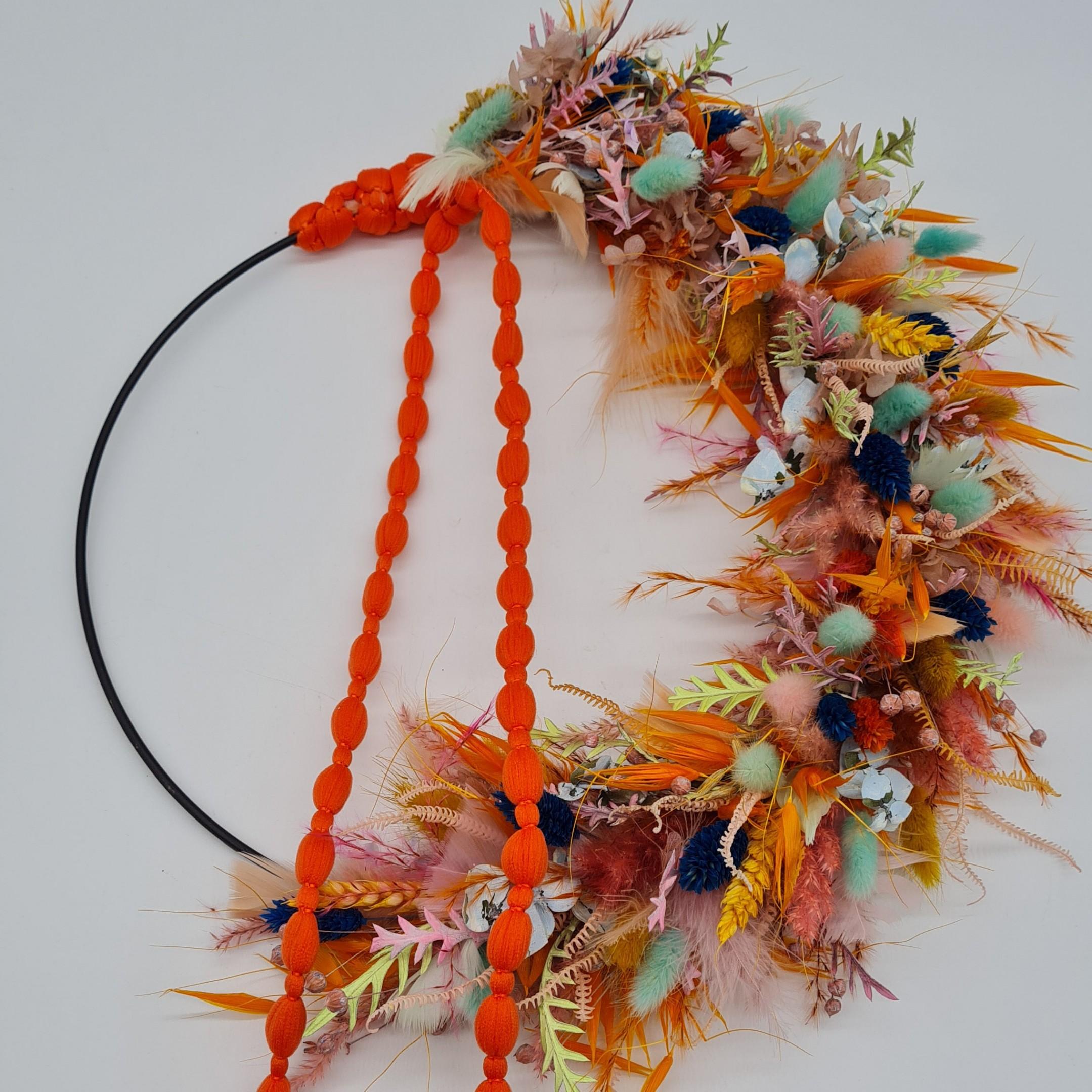 Loop Flowerpower Orangelove Bild 1