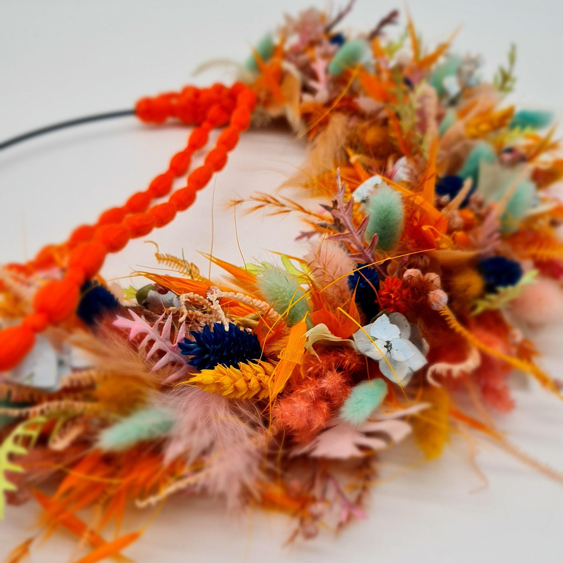 Loop Flowerpower Orangelove Bild 2