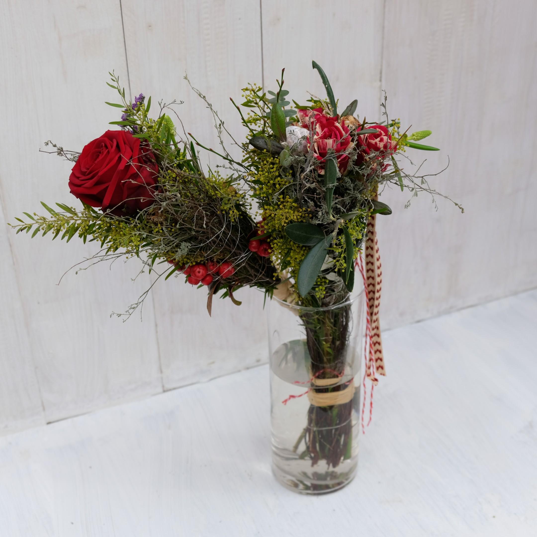 Rose liebevoll verpackt Bild 1
