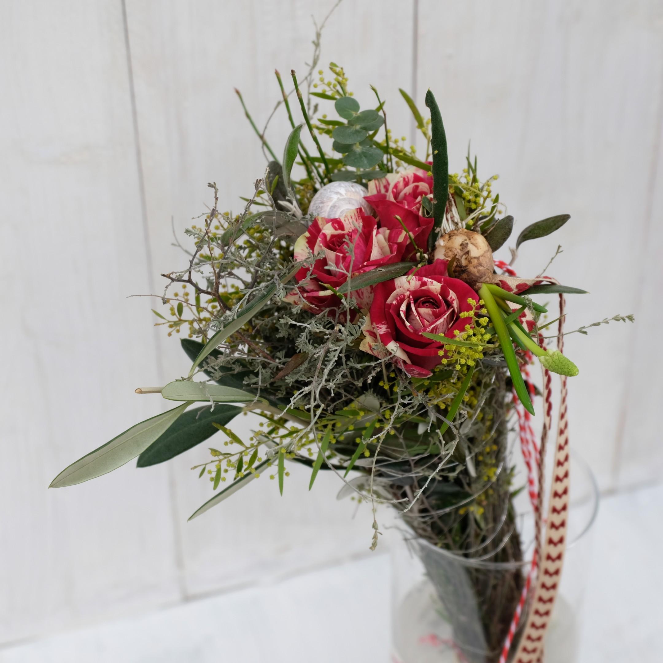 Rose liebevoll verpackt Bild 3