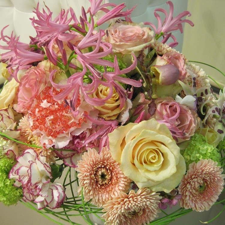 Blumenstrauß in pastell Bild 1