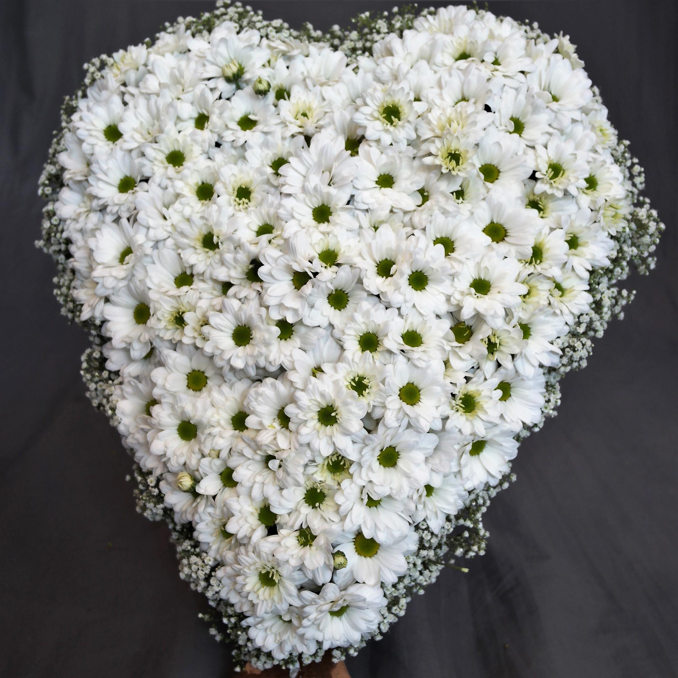 Herz in weiß Bild 1