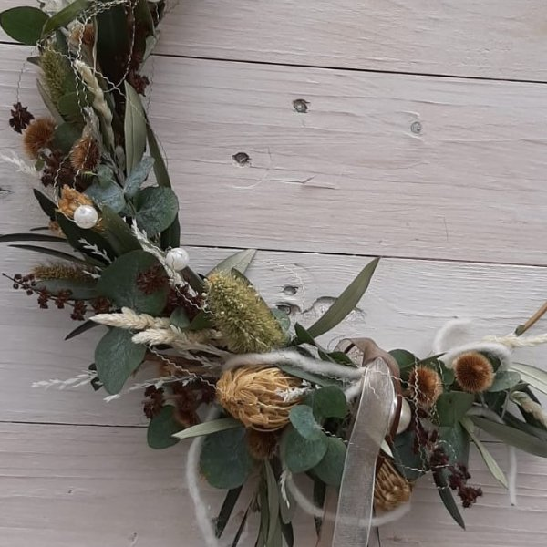 """Trockenblumen Hoop """"Nature"""" Bild 2"""