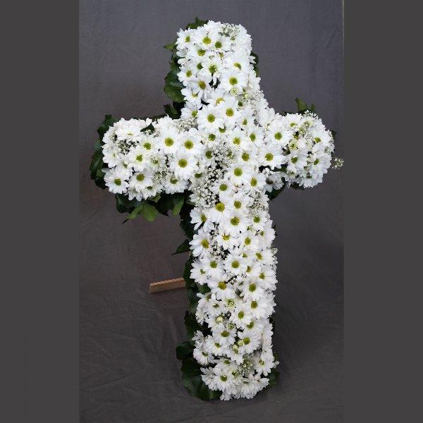Kreuz in weiß Bild 1