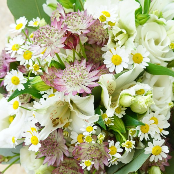 "Makramee-Glas ""Blütentraum"" Bild 3"