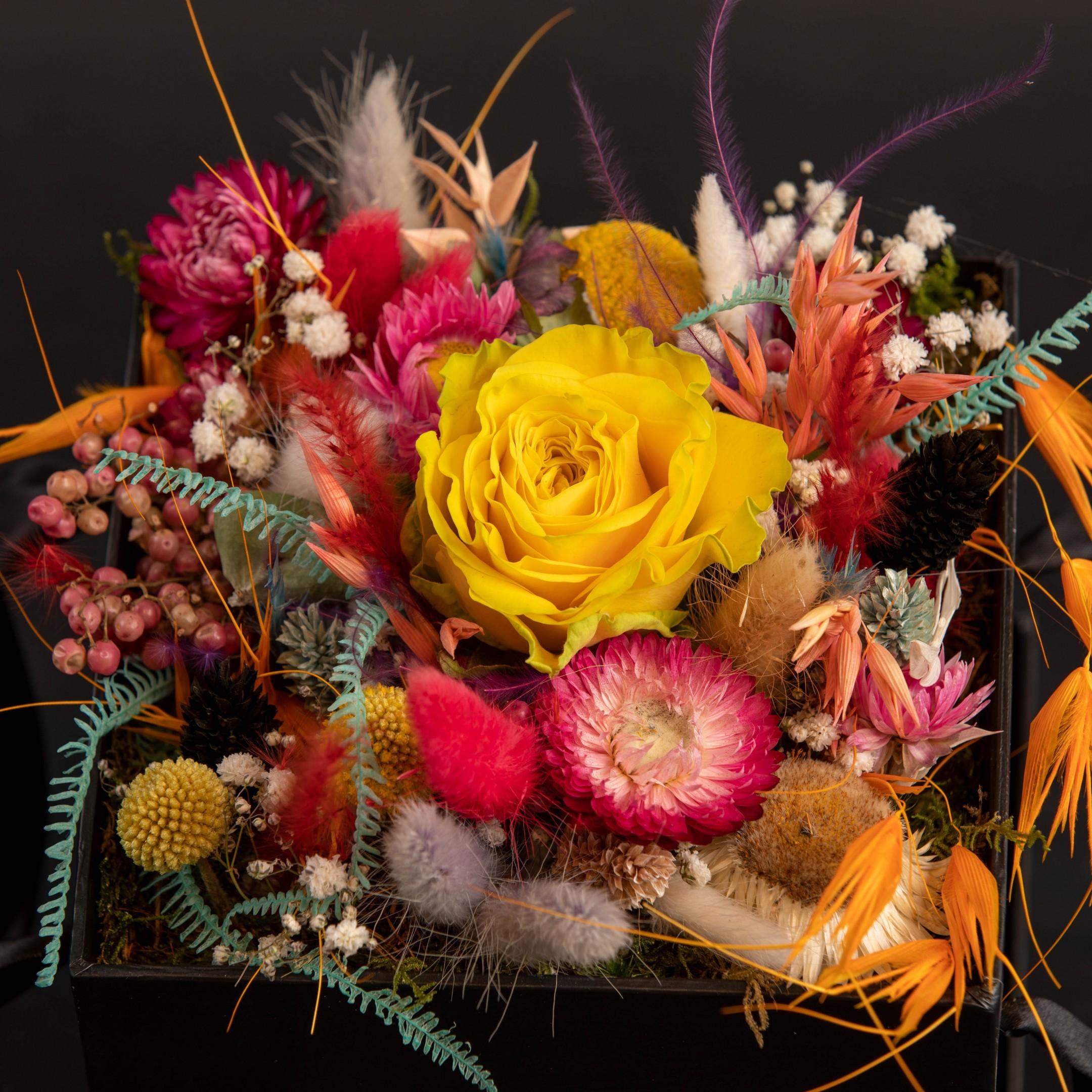 Die Blumenhandwerk Blütenbox Bild 2