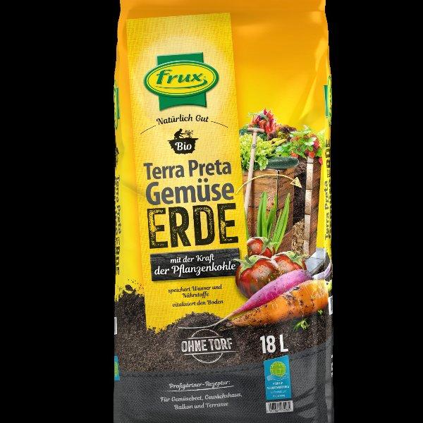 Frux Terra Preta BIO Gemüseerde -torffrei- 18 Liter Bild 1