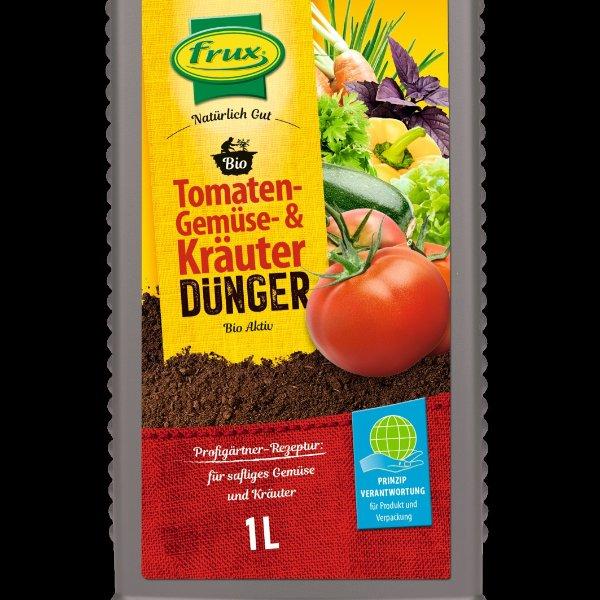 BIO Tomaten-, Kräuter und Gemüsedünger flüssig Bild 1