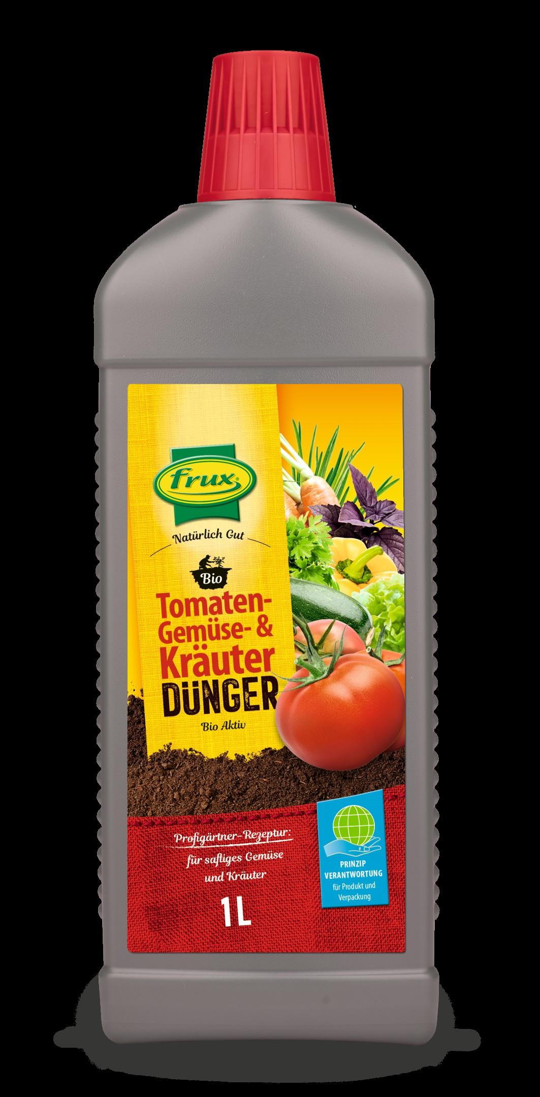 BIO Tomaten-, Kräuter und Gemüsedünger flüssig Bild 2