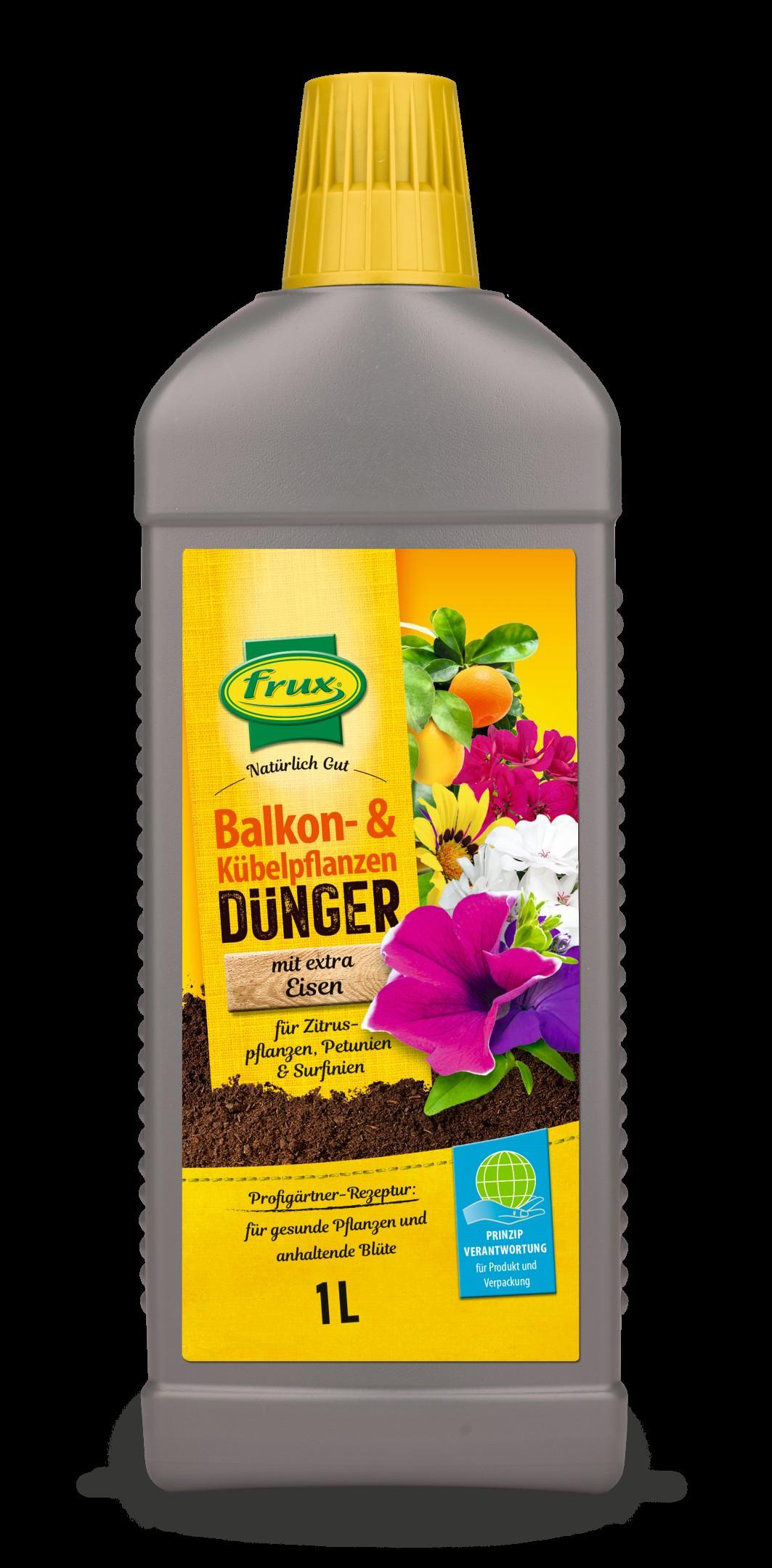Balkon- und Kübelpflanzendünger flüssig Bild 2