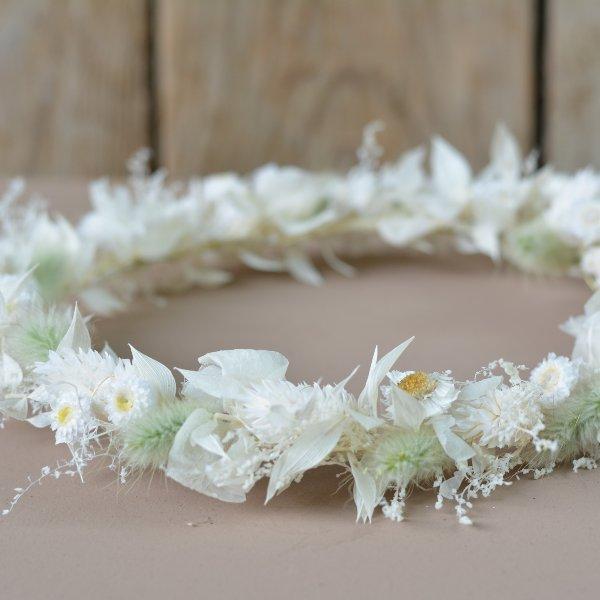 Trockenblumen Haarkranz `Elisabeth` Bild 2