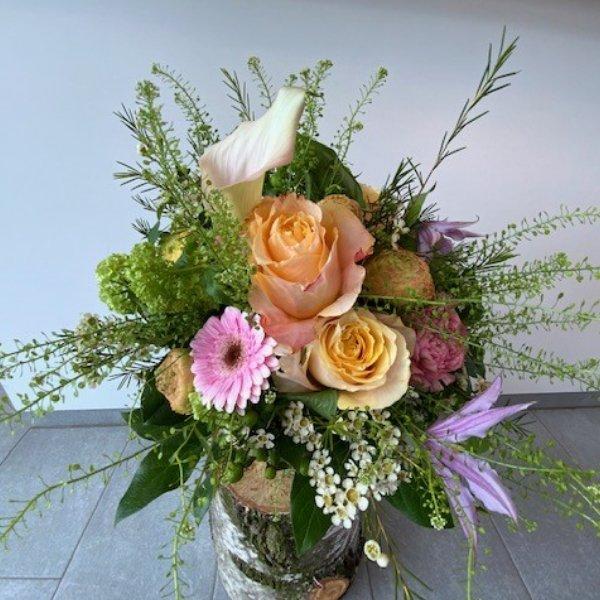 """Strauß """"zarte Blütenfarben"""" Bild 1"""