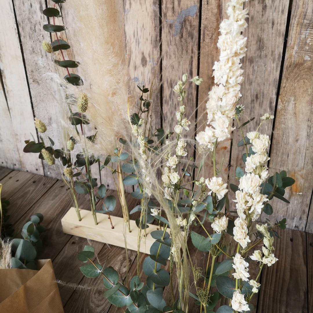 Raumschmuck mit Trockenblumen Bild 2