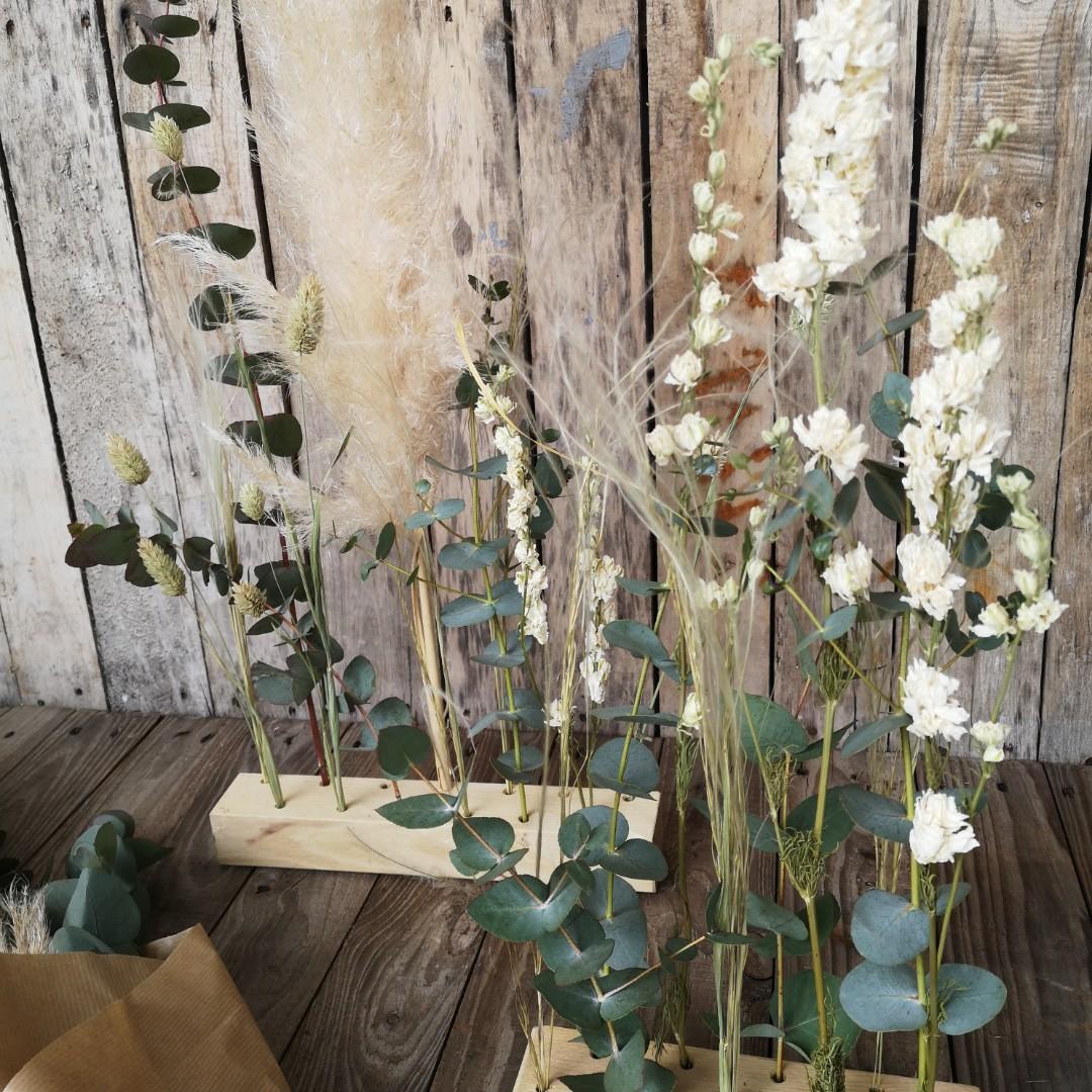 Raumschmuck mit Trockenblumen Bild 3