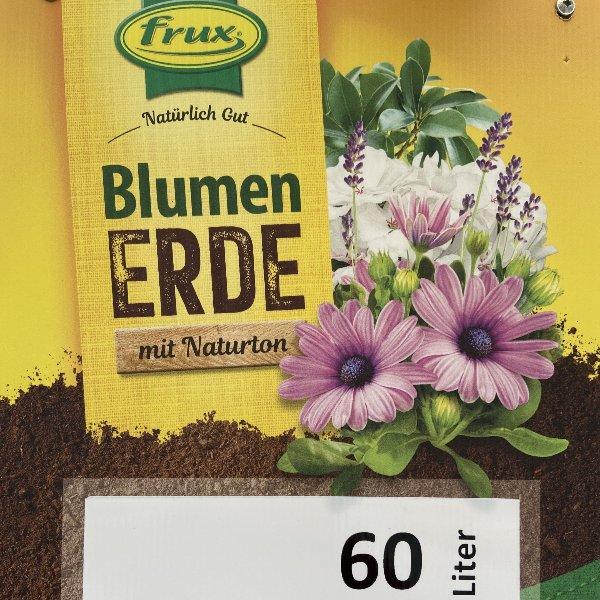 Blumenerde mit Naturton, 60 Liter Bild 1