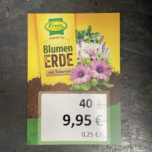 Blumenerde mit Naturton 40 Liter Bild 1