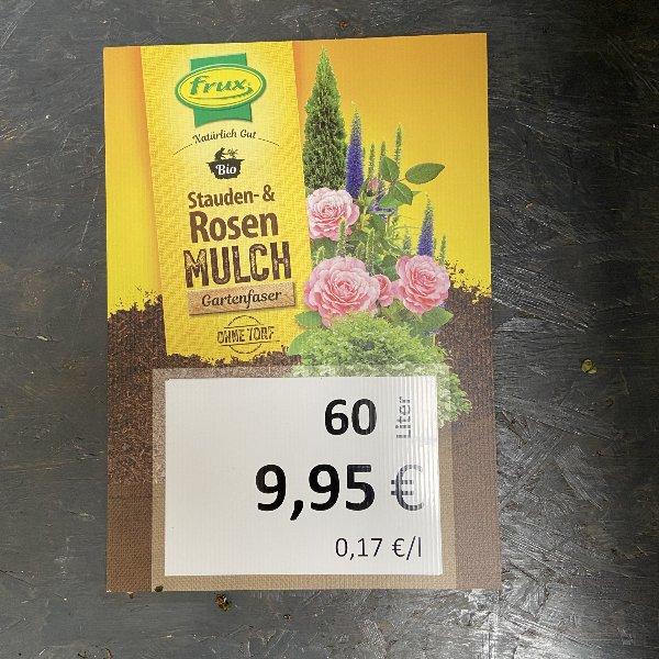 Rosen Mulch Torf frei, 60 Liter Bild 1