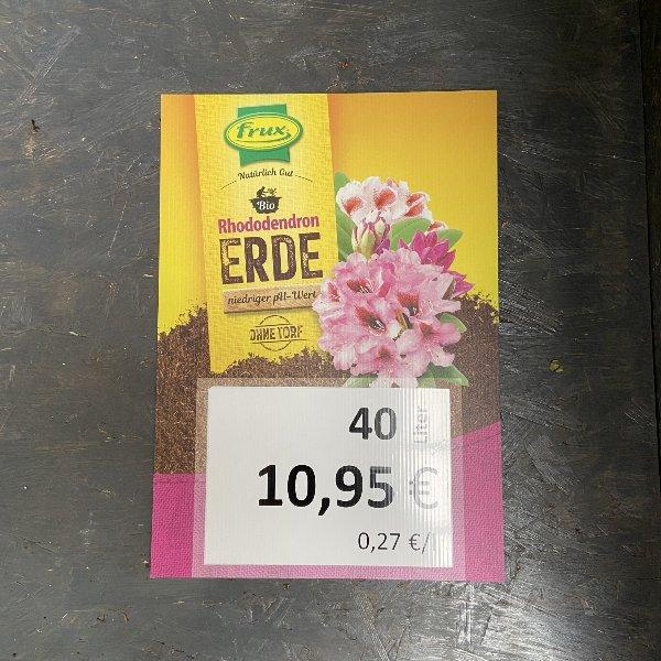 Rhododendron Erde, Torf frei, 40 Liter Bild 1