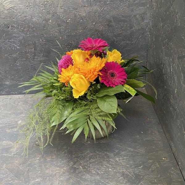 Blumenstrauß in Orange & Pink Bild 2