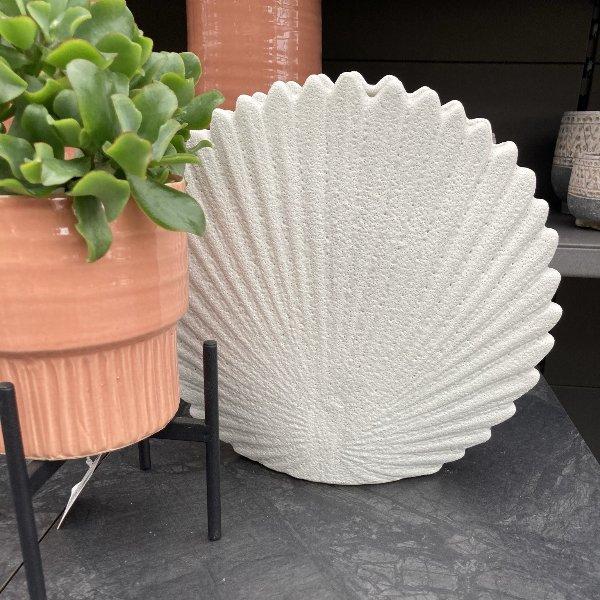 Vase in Muschelform Bild 2