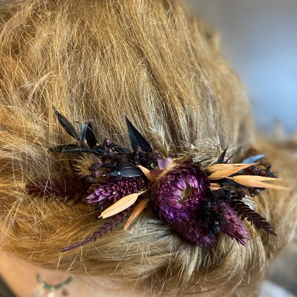 Haarkamm Driedflowers Bild 5