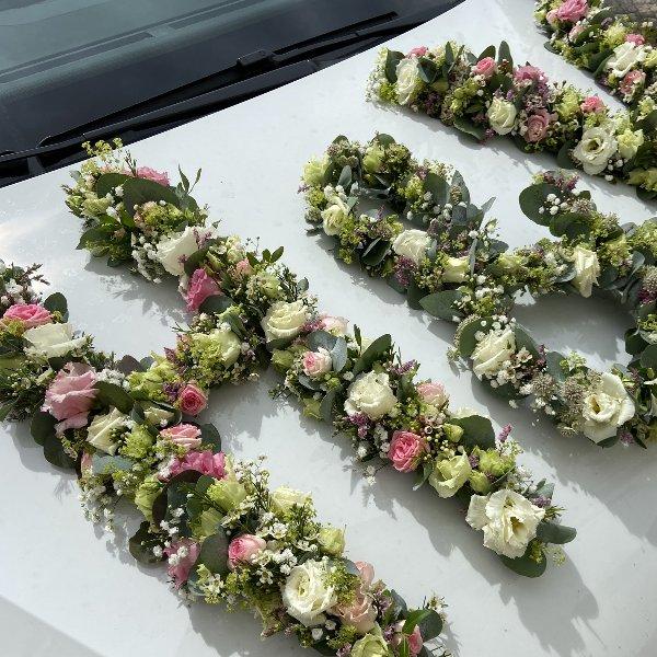 Initialen aus Blumen Bild 2