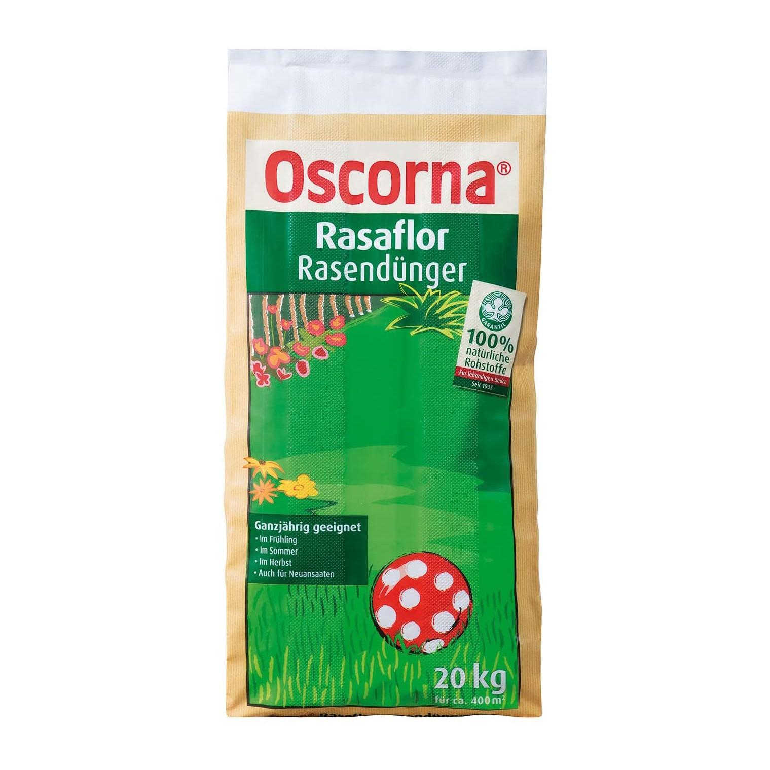 Oscorna Rasaflor Rasendünger Bild 1