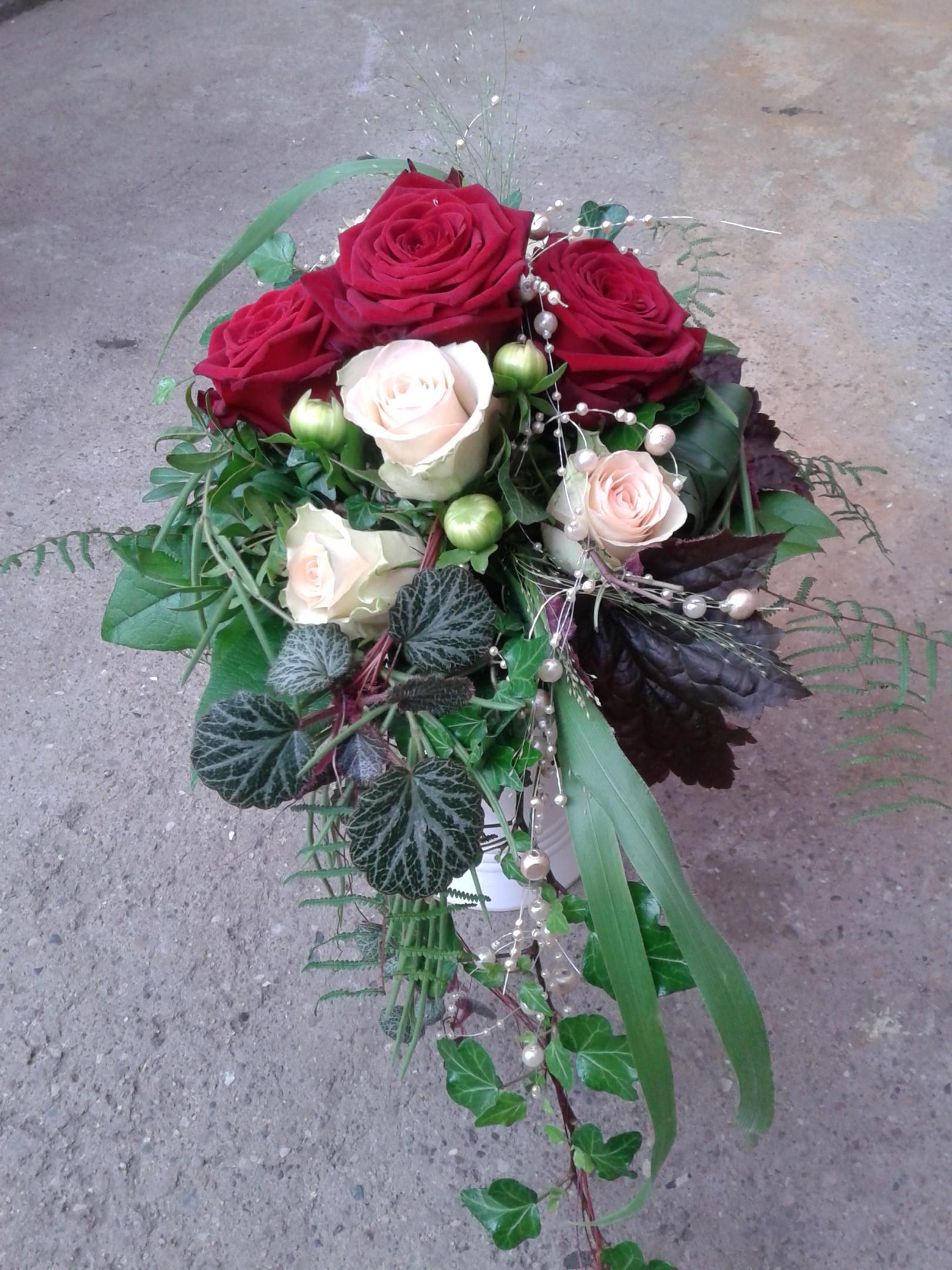 Brautstrauß Rosen Bild 2