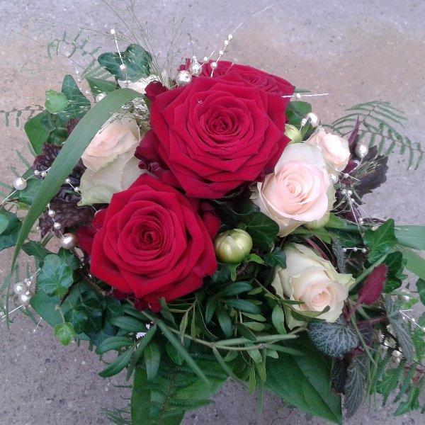 Brautstrauß Rosen Bild 1