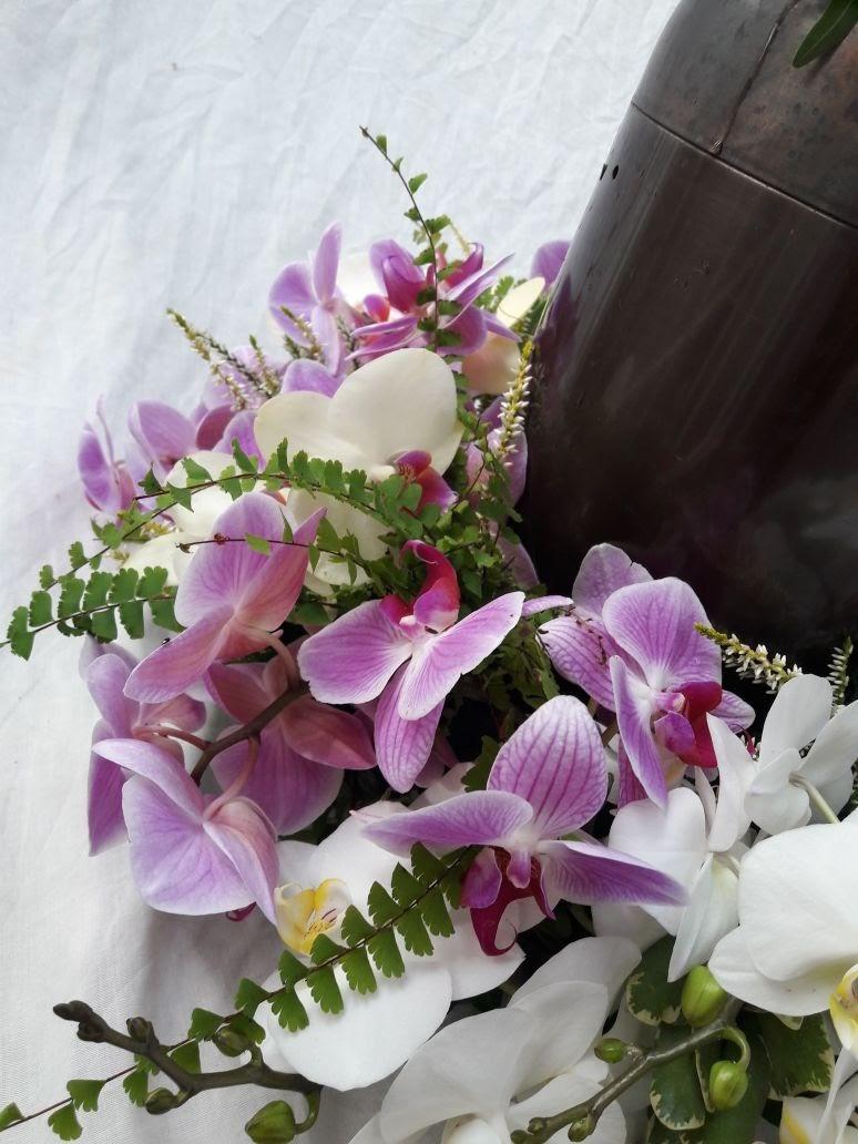 Urnenschmuck Orchidee Bild 2