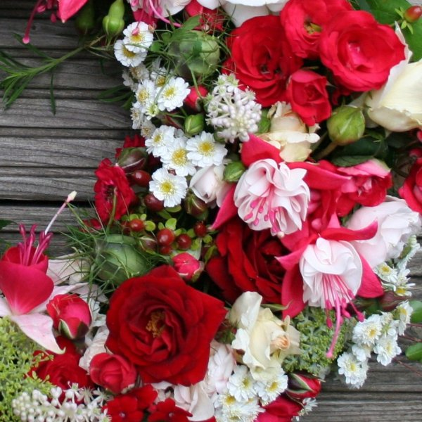 Blütenkranz Bild 2