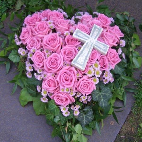 #T2 Blütenherz aus Rosen Bild 3