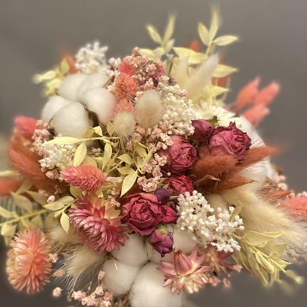 #51 Vintage-Pastell Bouquet Bild 2